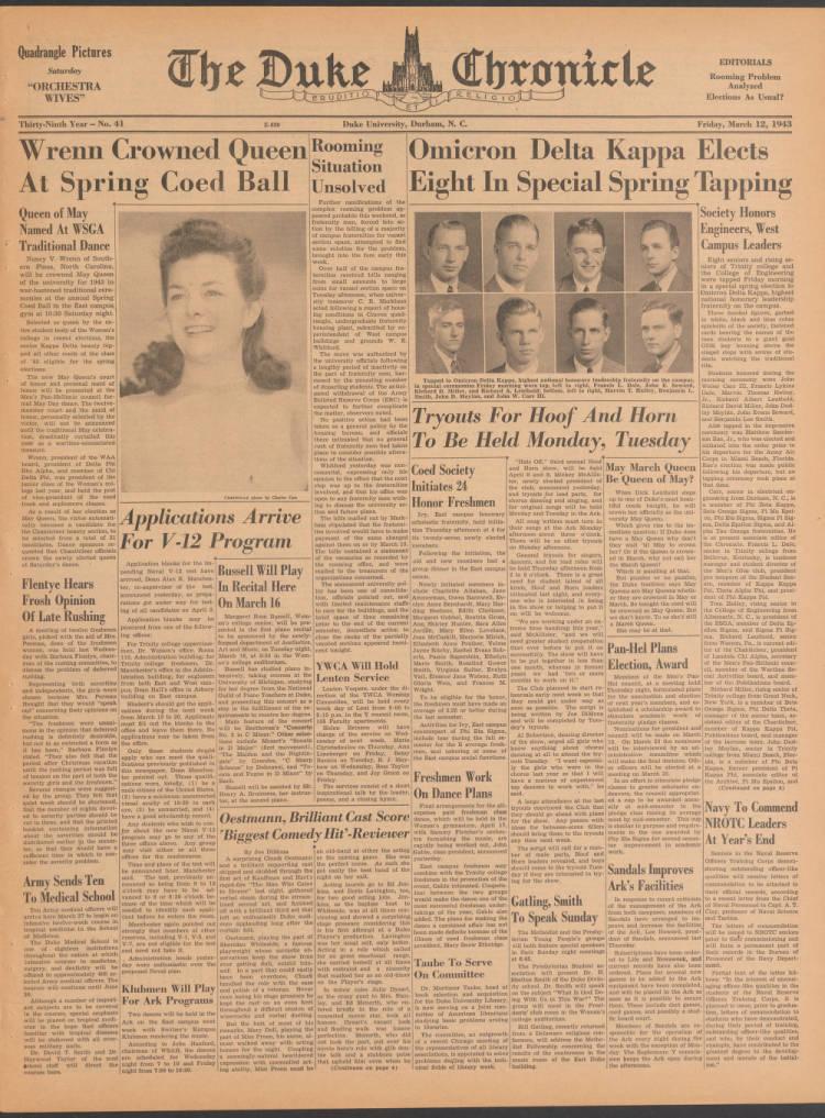 dchnp430420010 - The Duke University Chronicle - Duke Digital